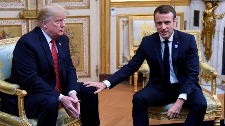 URGENT : Macron bloque Trump sur whatsapp après sa défaite contre Joe Biden aux présidentielles