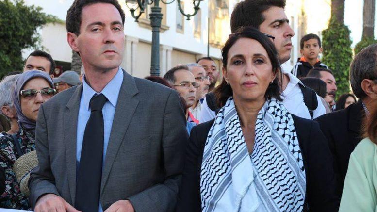 Nabila Mounib s'apprêtant à se retirer de la vie politique, se rappelle qu'elle n'en fait pas partie.